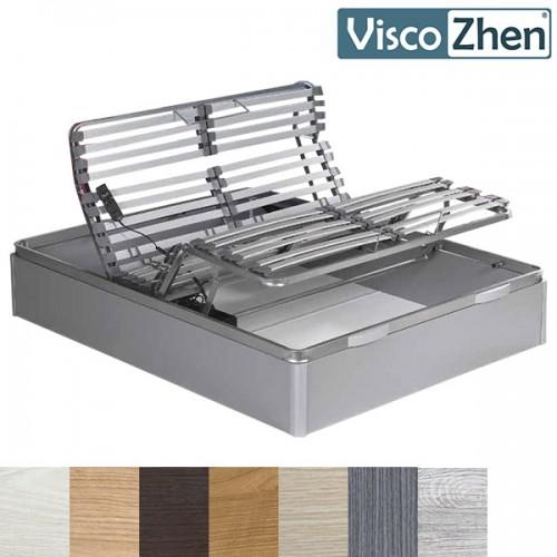 Canape Abatible Configurable con Somier Articulado Viscozhen Zahara