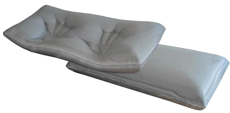 las almohadas viscoelásticas destacan por su adaptabilidad