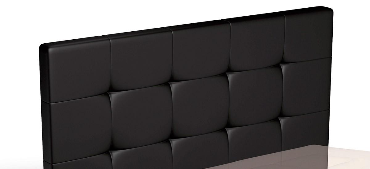 Cabecero de cama tapizado en EcoPiel con Capitone