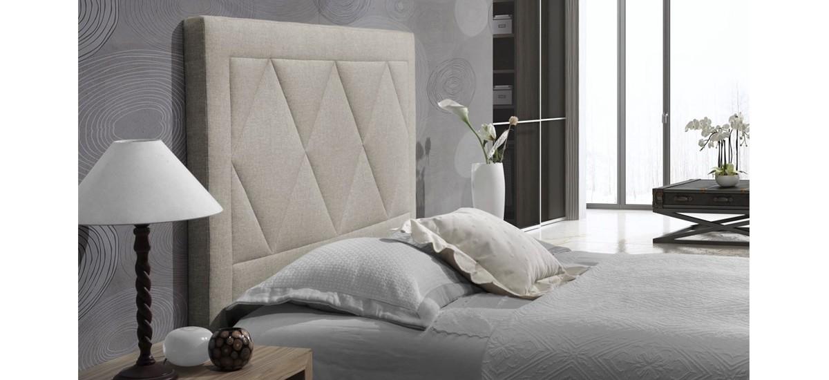 Hazte con tu cabecero de cama francia al mejor precio - Cabecero cama tela ...