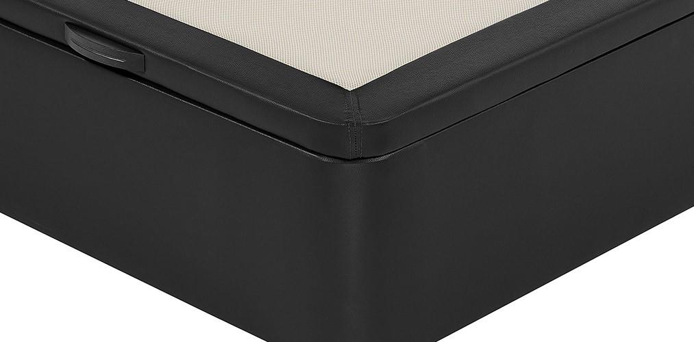 Canape Abatible Flex Con Arcon Y Tapa Tapizados En Polipiel