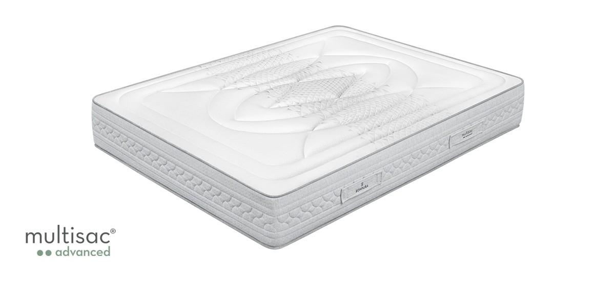 Pack ahorro Colchón Sonpura Fusión + Base tapizada Concept
