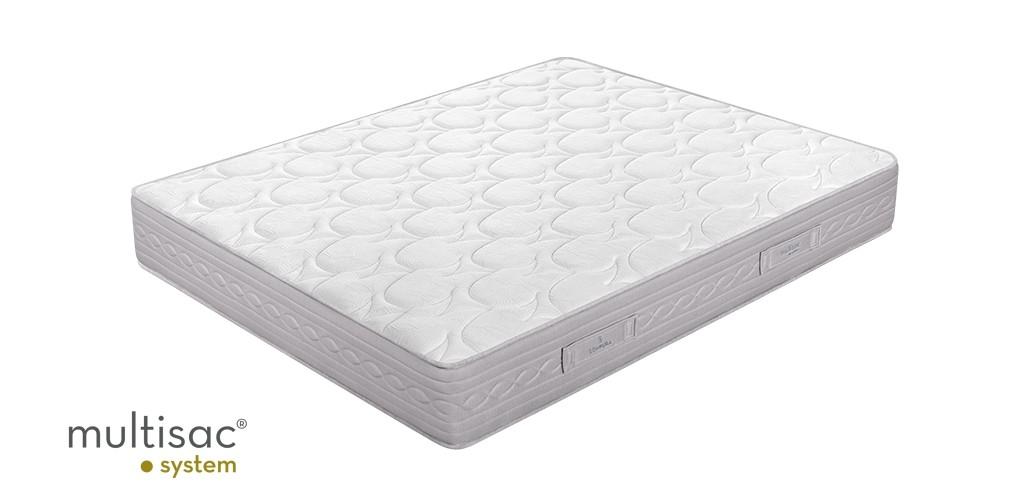 Pack ahorro Colchón Sonpura Prisma + Base tapizada Concept