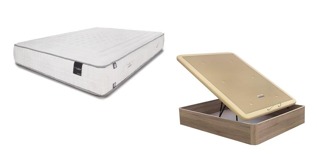 Pack Ahorro de Colchón Termalfresh Platinum y Canapé Abatible Boheme