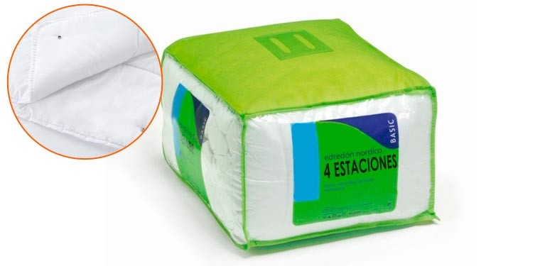 EDREDON 4 ESTACIONES DUO 125GR + 250GR TACTO