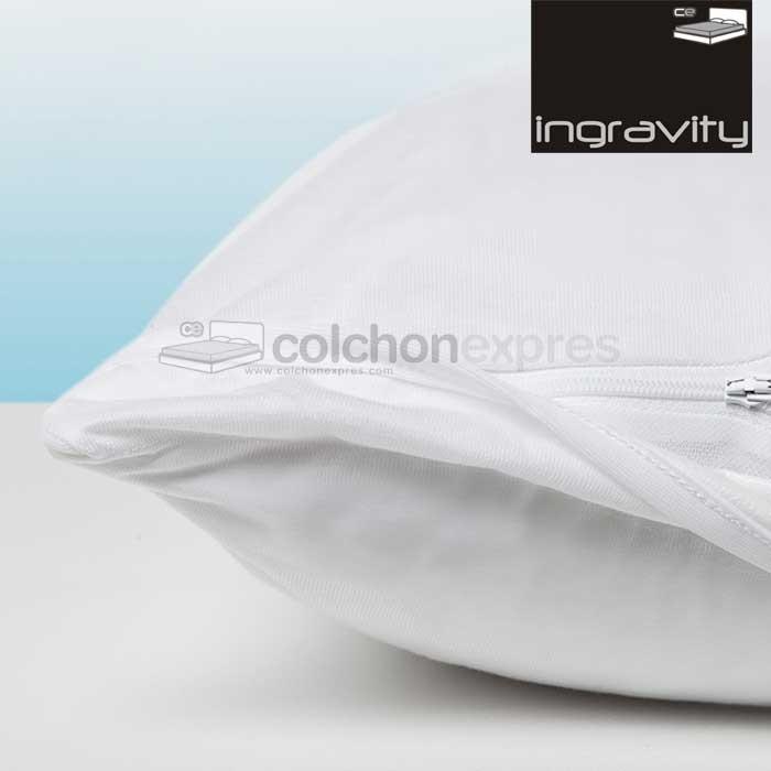 Funda de almohada 2ndSkin impermeable anti-bacteriano blanca - DESCATALOGADO