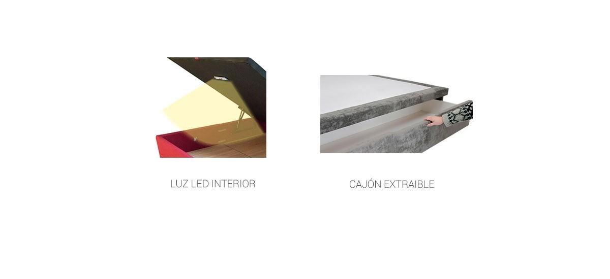 Canapé abatible tapizado Ingravity Curve 22