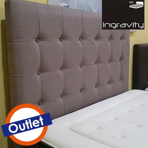 OUTLET CABECERO SELECTION FINO 140H ABOTONADO GRANDSTD MONET