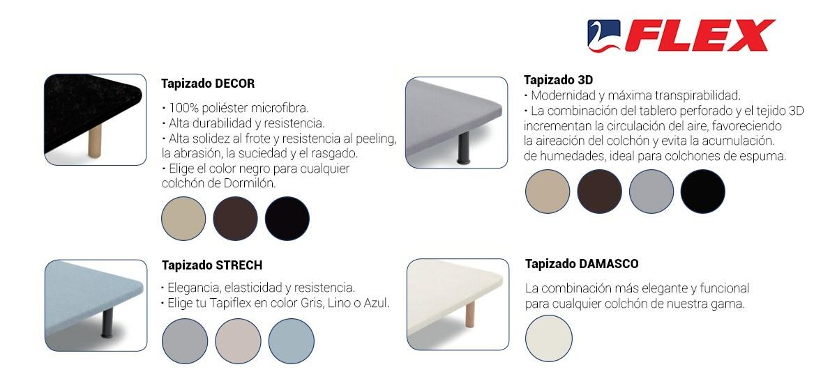 Cama Nido Flex Tapiflex Transpirable