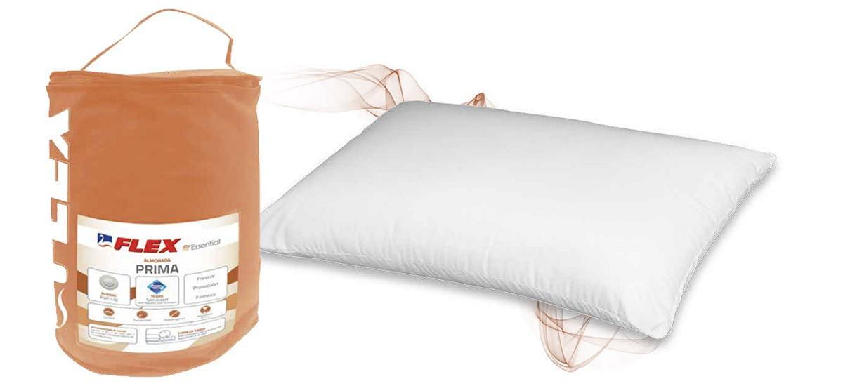 Almohada de fibra hueca Flex Prima