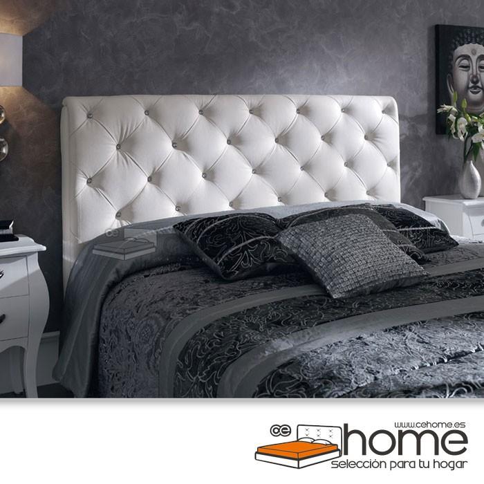 02672de902b57 Cabecero de cama tapizado polipiel CeHome Kelly descatalogado ...