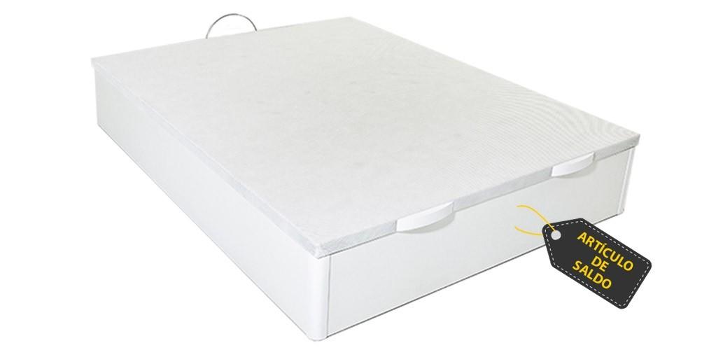 Oferta de Canapé Beatriz en Color Blanco con Tapa Premium en la Medida de 135x190 (Descatalogado)