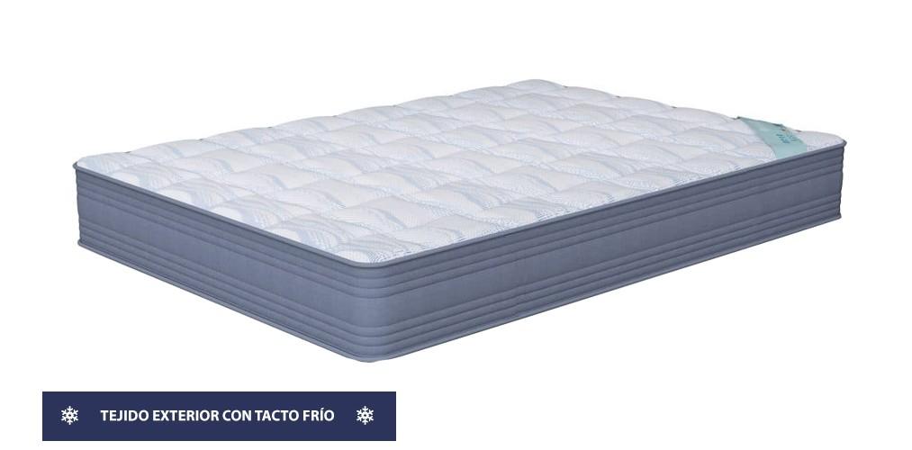 2x1 de Colchón Be Cool y Almohadas viscoelásticas con propiedades antiestáticas