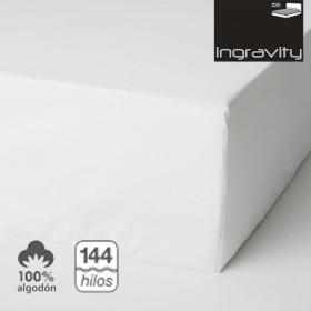 Sábana Bajera 100% Algodón de 200 hilos con Platabanda elástica