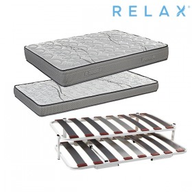 Pack Ahorro Cama Nido Relax Combi con 2 colchones Intense Vision