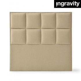 Cabecero Tapizado cuadrados Biel Ingravity 150 cm de altura