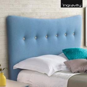 Cabecero de cama Tapizado Ingravity Modelo Suecia