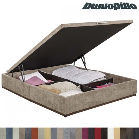 Canapé Abatible Dunlopillo Tapizado Tela o Polipiel 34 cm
