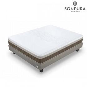 Colchón de muelles ensacados y viscoelástica Sonpura Zen Suave (Descatalogado)
