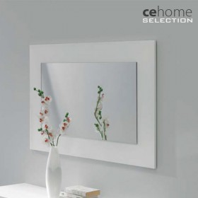 Espejo Rectangular Lacado Alto Brillo 105x70 (Descatalogado)