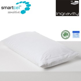 Funda Almohada Tencel Ingravity Transpirable-Impermeable Blanco