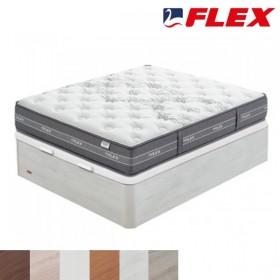 Pack Súper-Ahorro de Colchón viscoelástico Flex Nube + Canapé Abatible Flex Madera 25
