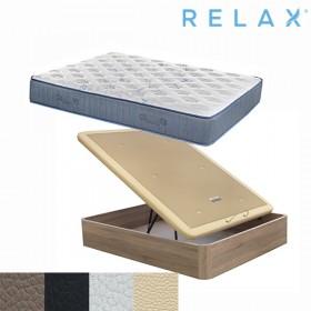 Pack Ahorro Colchón Relax Restful Elyo + Canapé Abatible Relax Boheme (Descatalogado)