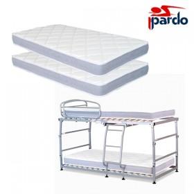 Pack Ahorro 2 colchones + Litera Pardo Vega