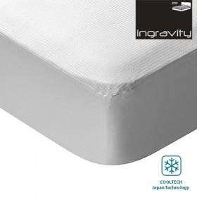 Cubre Colchón Efecto Frío Ingravity con Tecnología Dermofresh Cool