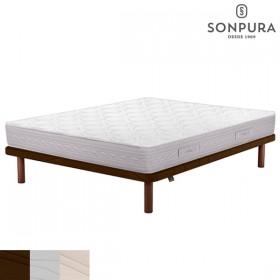 Pack Ahorro Colchón Sonpura Prisma y Base tapizada Sonpura Concept