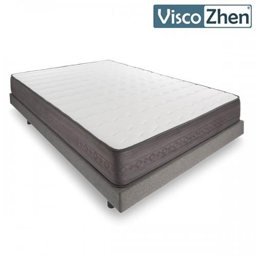 Colchon Viscoelastico Viscozhen V200 Argentum