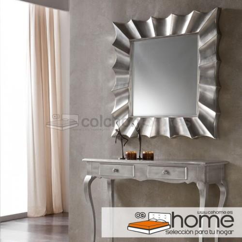 Espejo modelo Star con marco Silver