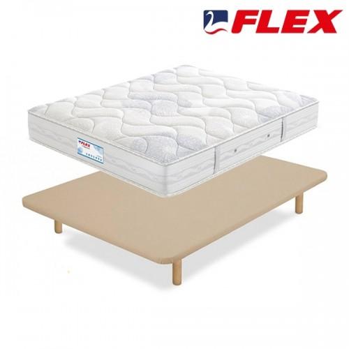 Pack ahorro Colchón Flex Habana + Base tapizada TapiFlex